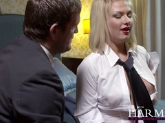 Blonde Lucy Heart met a handsome photographer and ended up having anal sex with him