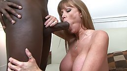 Big titted woman, Darla Crane was caught fucking a black guy, but she didn't care