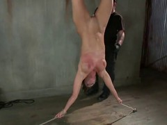 After she got tied up, Ariel X got stimulated in a way she always wanted