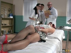 Ryder Skye is in her doctor's office and getting fucked instead of having a medical exam