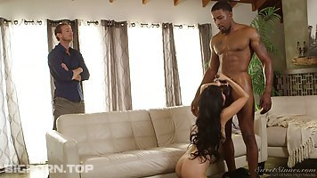 Marica Hase is a sweet sinner who just likes to fuck black guys quite often